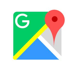 グーグルマップのアプリ