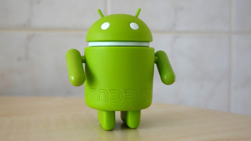 モバイルのandroidOSのキャラクタードロイド