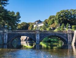皇居と二重橋
